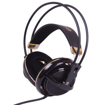 SteelSeries 赛睿 西伯利亚v1 全尺寸耳机 黑金色 240元包邮