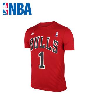 NBA adidas 新款公牛队罗斯 阿迪达斯t恤 男 短袖 阿迪达斯短袖ADS图片