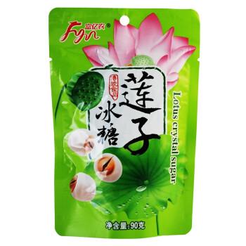 富亿农冰糖莲子90g ¥40元12包,另有40元选12件专区