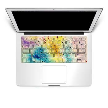 苹果笔记本配件macbook无缝键盘贴膜贴纸