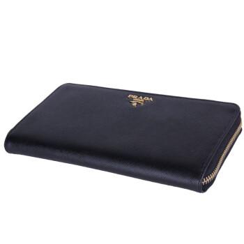 钱包> prada 普拉达 女款黑色