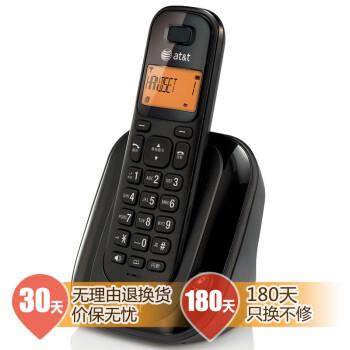 AT&T EL31109B 数字无绳电话机 黑色