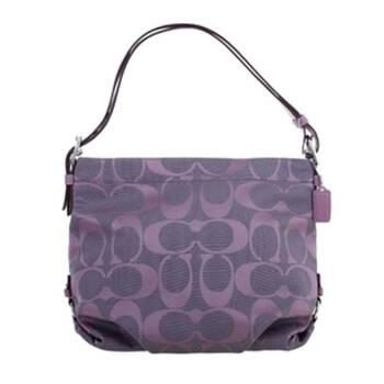 款 帆布 经典logo 女包 15067 粉紫色