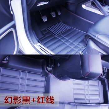 金利美长安CS35改装专用汽车脚垫 CS75专用全包围脚垫 皮革包围脚高清图片