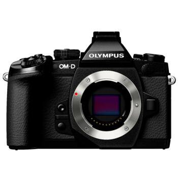 奥林巴斯(OLYMPUS) OM-D E-M1 微型单电机身  (5轴防抖 内置WiFi 可翻转触摸屏 防尘防水溅防冻) 黑色