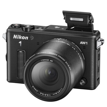 尼康(Nikon) 1 AW1 (VR11-27.5mm f/3.5-5.6) 可换镜数码套机 黑色