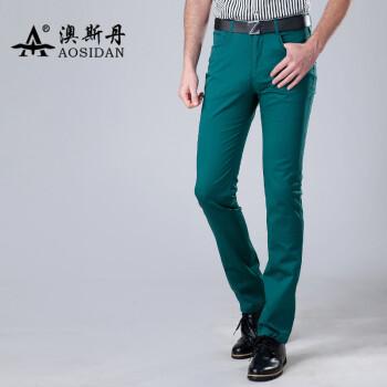 韩版修身男裤 男士时尚小脚裤子