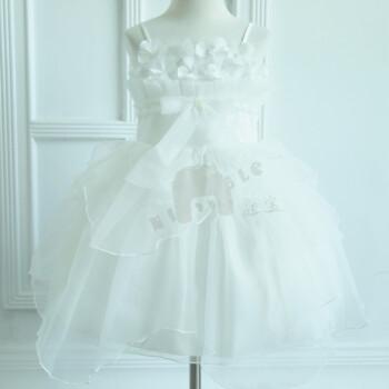 裙爆款婚纱裙儿童公主礼服裙吊带连衣裙节日派对礼服