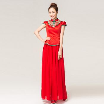 敬酒服新娘红色价格,敬酒服新娘红色 比价导购 ,敬酒服新娘红色怎图片