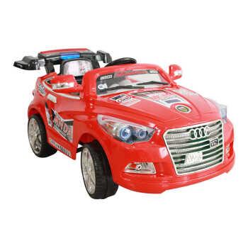 孩子王儿童电动车奥迪奢华高档玩具车双驱四轮遥控