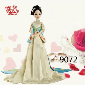 可儿娃娃纪念珍藏版 中国公主龙女 明珠格格 蝶舞云裳
