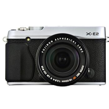富士(FUJIFILM) X-E2(XF18-55mm镜头)单电套机 银色(1630万像素CMOS 3英寸屏 Wi-Fi功能 去低通滤镜)