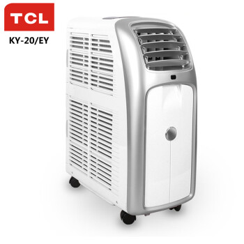 TCL KY-20/EY 小1匹 钛金家用/机房定速单冷移动空调(米白色)