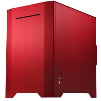 乔思伯  W1 ITX机箱 外铝 红色