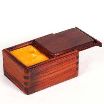 雅轩斋 红木盒子 酸枝木玉器盒 首饰盒饰品盒收藏盒 榫卯结构 仿古抽