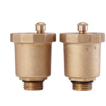 > 森威尔saswell黄铜采暖管道自动排气阀自动放气阀dn15/4分图片