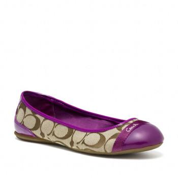 女士平底鞋瓢鞋 coach女鞋