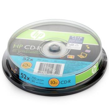 ���գ�HP�� CD-R 52�� 700MB Ͱװ10Ƭ ��¼��