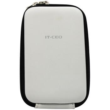 IT-CEO V313-D 2.5英寸移动硬盘/电源保护包 保护套 PU料数码收纳/相机/整理/配件包 防震防水 琉璃白