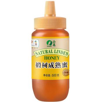 中粮集团山萃牌椴树成熟蜜500g(瓶装)