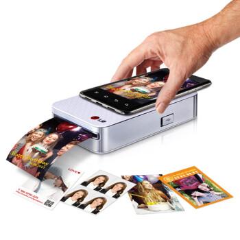 LG PD233 Pocket Photo 2.0 口袋相印机 银色 859元包邮