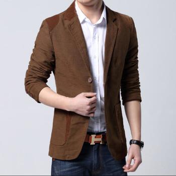 格蓝凯 男装2014新款春装韩版修身小西装 男式休闲西服 男士外套 图片