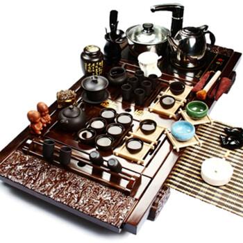 郑品 宜兴紫砂茶具套装整套 自动加水电磁炉茶盘Z-BJXY0440