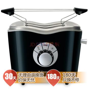 伊莱克斯(Electrolux)ETS3000 烤面包机(黑/银)