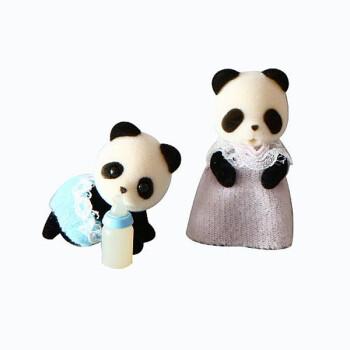 森贝儿家族 动物双胞胎宝宝系列 创意生日礼品 女孩玩具 亲子玩具图片
