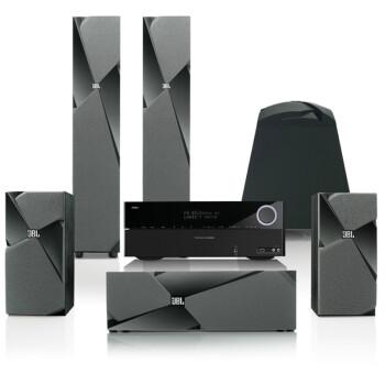 JBL Studio 1系列5.1家庭影院套装 黑色