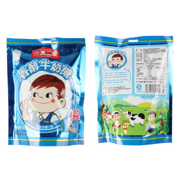 不二家棒棒糖香醇牛奶糖原味120g/袋图片