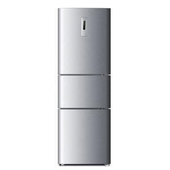 海尔(Haier) BCD-215SEBB 215升 三门冰箱(银灰色)
