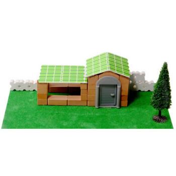 儿童益智玩具手工diy玩具建筑动手积木玩具仿真模型