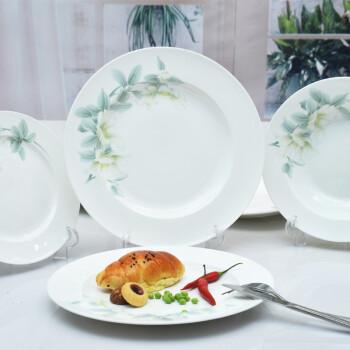 华光陶瓷 清秋雅韵骨瓷餐具套装 20头礼盒装图片