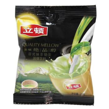 立顿绝品醇奶茶日式抹茶奶茶S1 24*21g/袋装