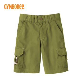 橄榄绿短裤搭配