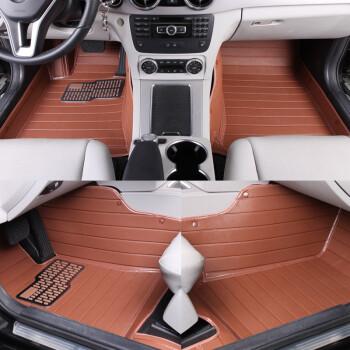 纹款汽车脚垫 奔驰车系专用 摩卡棕 奔驰E200L怎么样,好不好