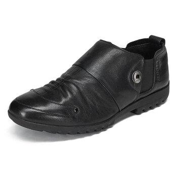 男土休闲皮鞋图