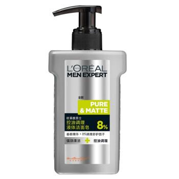 欧莱雅(LOREAL) 男士控油调理液体洁面皂 150ml