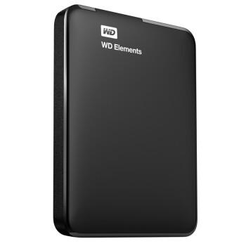 西部数据(WD) Elements 新元素系列 2.5英寸 USB3.0 移动硬盘 500G(WDBUZG5000ABK)