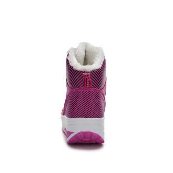 冬季新款高帮加绒款摇摇鞋雪地鞋