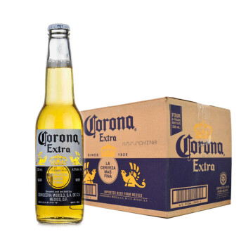 墨西哥原装进口 CORONA特级科罗娜(科罗纳)啤酒330ml 24支