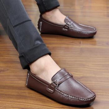 先驱者男士休闲鞋男鞋帆船鞋潮流韩版驾车鞋