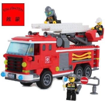 乐高式拼装积木 消防系列