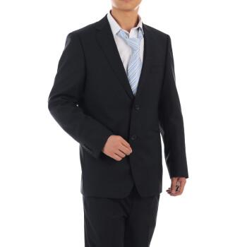 雅戈尔西服套装修身韩版701 秋冬藏青色羊毛商务男士西装 藏青色 衣图片