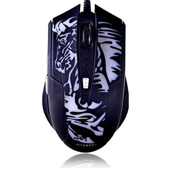 现代(HYUNDAI) 幻影HY-G68 炫马 4色炫光六键游戏鼠标