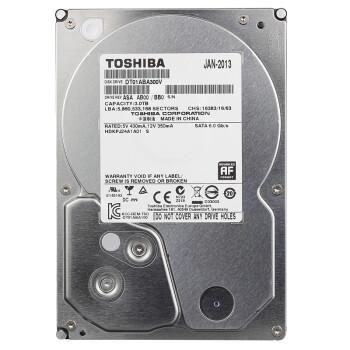 东芝(Toshiba) 3T 5940转 SATA3 监控级硬盘 DT01ABA300V