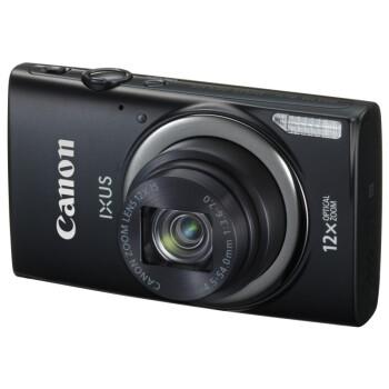 佳能(Canon) IXUS 265 HS 数码相机 黑色(1600万像素 3英寸液晶屏 12倍光学变焦 25mm广角 遥控拍摄)