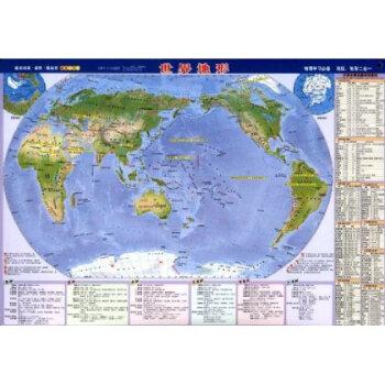 世界地图:世界地形【图片