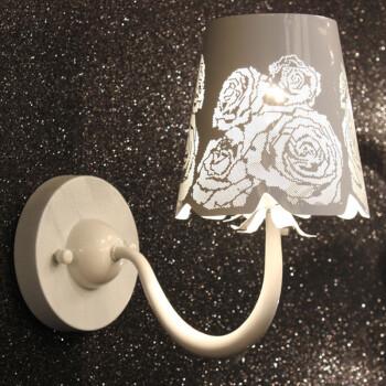 宏吉玫瑰花壁灯床头走廊过道楼梯镂空雕花温馨浪漫饰时尚简约后现代新